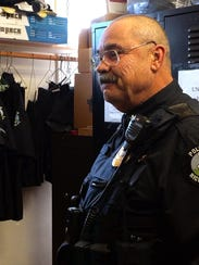 Richmond Police Chief Alan Buck, pictured in November