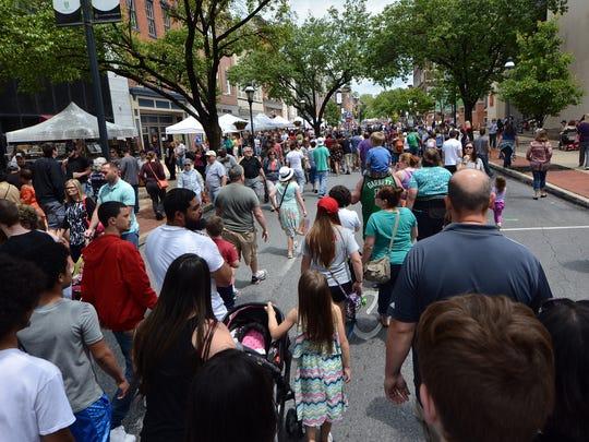 42nd Annual Olde York Street Fair, Sunday, May 14,