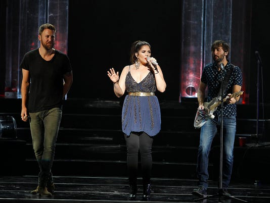 Lady Antebellum at Ak-Chin Pavilion June 2, 2017