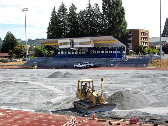 A new turf field will debut at Bremerton Memorial High