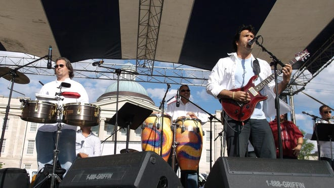 Latinismo will bring a sizzling Latin beat to Sombra's Cinco de Mayo Block Party May 5.
