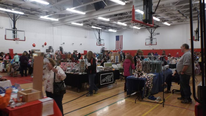 The Groton High School French Club craft show in 2014.