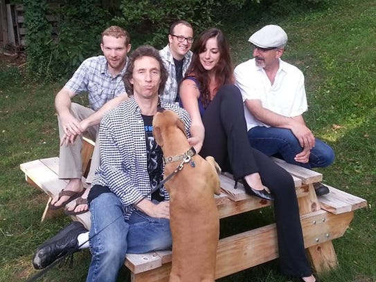 Virginia and the Slims from Asheville play jump blues