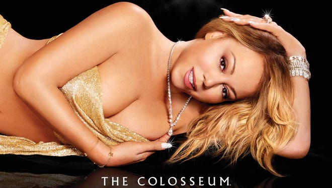 Advertisements promoting Mariah Carey's upcoming concert series in Las Vegas are scheduled to begin running in the John Wayne Airport terminal on Aug. 22.