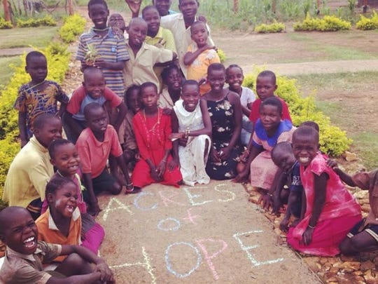 Louisiana College social work major Karissa Grant will spend the spring semester in Uganda near Acres of Hope, an orphanage she has worked with during two previous trips. Her favorite part has been working with the children.