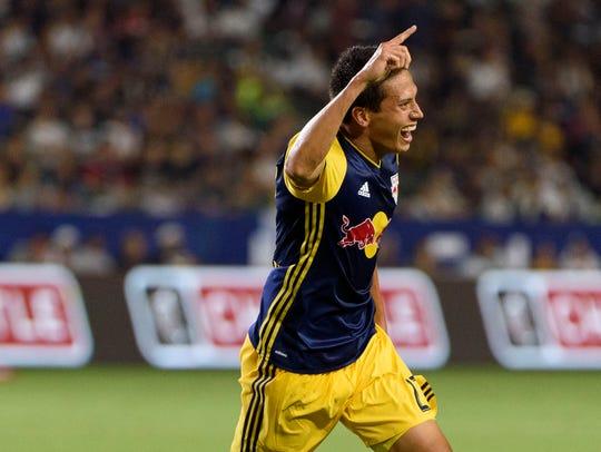 Holmdel native Sean Davis celebrates his first MLS