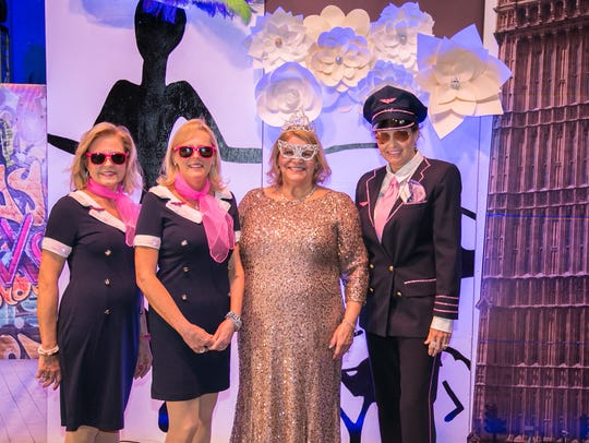 Seen at the 55th annual Bal Masque celebration in January