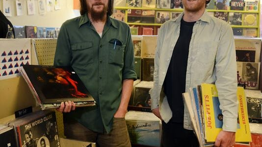 Matt Schnable, left, and Mark Capon of Harvest Records.
