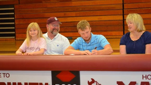 Swain County senior Jacob Cutshaw has signed to play college baseball for Montreat.