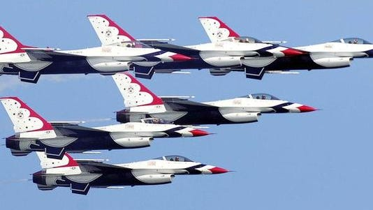The U.S. Air Force Thunderbirds will be the stars of the Northrop Grumman Air & Space Show at Melbourne International Airport in October.
