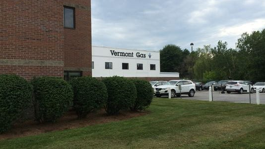 Vermont Gas headquarters in South Burlington earlier this month.