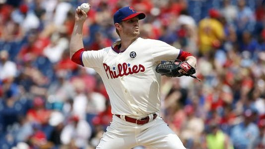 Kyle Kendrick settled down after a 3-run first inning, but not enough to avoid a loss.