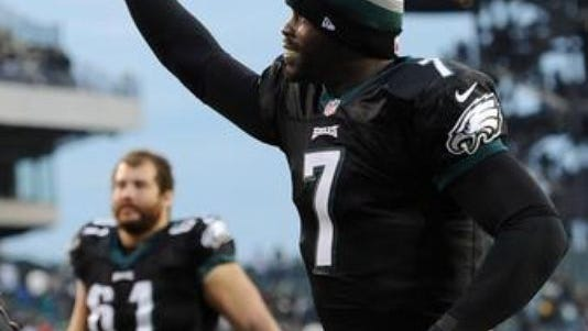 Michael Vick and the Jets play a preseason game against the Eagles on Aug. 28.