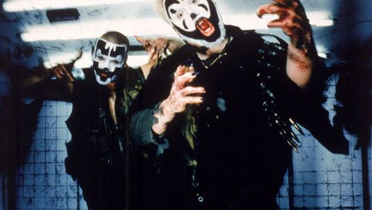 Violent J, left, and Shaggy 2 Dope of the Insane Clown Posse.