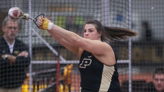 Dani Bunch is Purdue's sixth Big Ten Female Athlete of the Year.