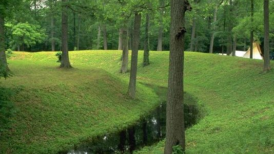 Mounds State Park in Anderson is a wildlife habitat and home to well-preserved mounds built by the prehistoric people.