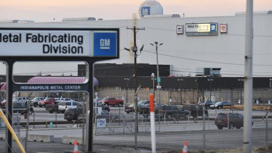 Located just west of the White River from Downtown Indianapolis, the former GM stamping plant was once slated to become the site of Marion County's new criminal justice center and an amphitheater.  But those plans fell through.