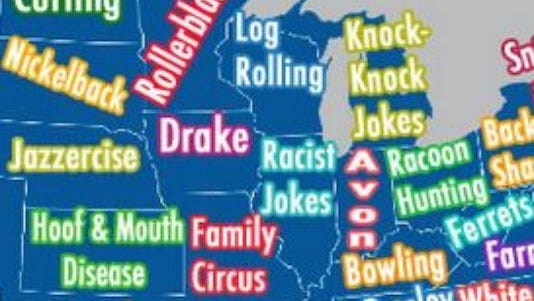 What do Iowans Google search the most? Drake, apparently.