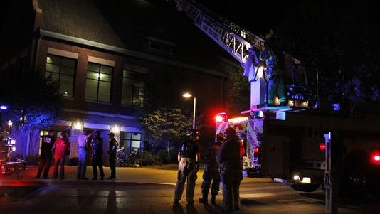 An Iowa State University dining center is closed today after an overnight fire broke out around midnight on Sunday.
