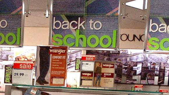 The average family with kids in grades K-12 will spend $669.28 on back-to-school purchases this year