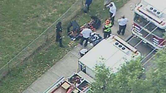 Five students shot near Atlanta high school