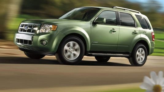 2009 Ford Escape, seen here as the hybrid version, is being recalled
