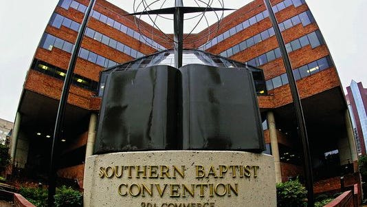 The headquarters of the Southern Baptist Convention in Nashville.