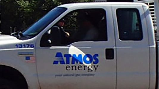 Atmos had to call in extra crews to handle the huge volume of gas leak calls in the Jackson area.