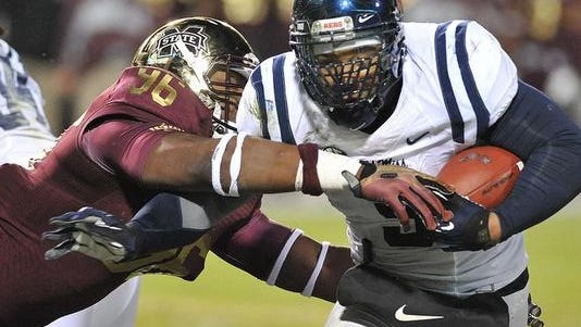 Ole Miss' Robert Nkemdiche received the most votes of any defender in the All-SEC voting.