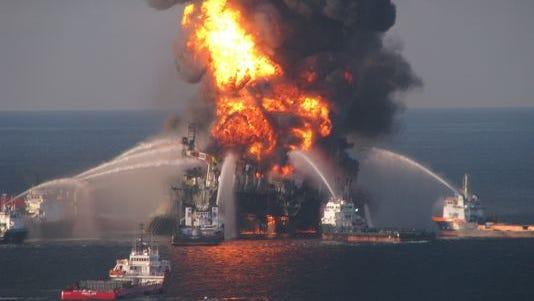 Deepwater Horizon blast