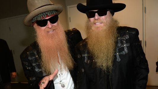 ZZ Top's Billy Gibbons, left, and Dusty Hill.