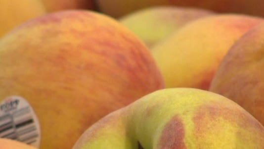 Peaches are among the fruits in a California packer recall.