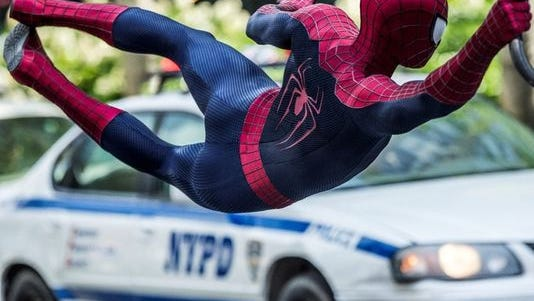 """""""The Amazing Spider-Man 2"""" was No. 1 at the box office this weekend."""