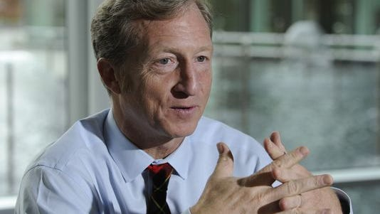 Tom Steyer, a billionaire environmentalist, plans to invest heavily in key races this fall.