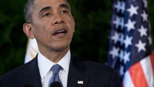 President Barack Obama on April 28, 2014.