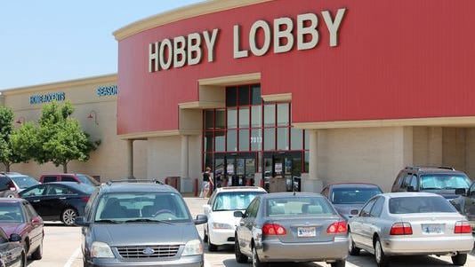 The arts-and-crafts chain Hobby Lobby, seen here in Oklahoma City, challenged the Obama administration over coverage of contraceptives.