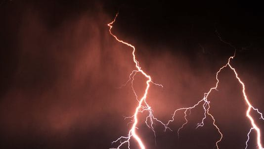 Two people have been killed in two separate lightning strikes in two days in Colorado.
