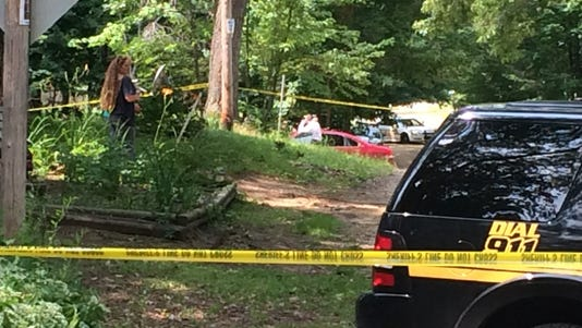 An infant was found Monday morning near White Cloud, Michigan.