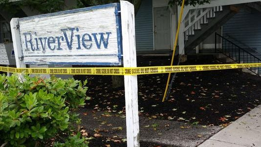 Maine State Police say a man shot and killed his wife and three children at their apartment in Saco, Maine, before killing himself Saturday, July 26, 2014. The incident is considered one of the worst cases of domestic violence in state history.