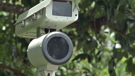 File photo of red light camera.