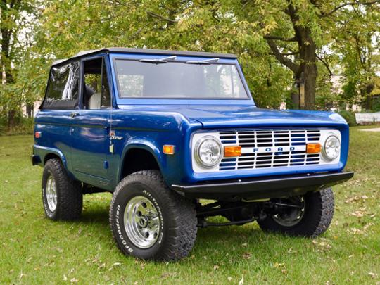 1976 FORD BRONCO 4X4 SUV