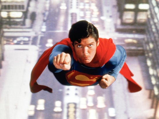 We believed a man can fly when Christopher Reeve played
