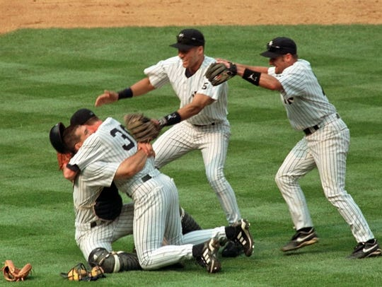 Joe Girardi and Derek Jeter were teammates for four