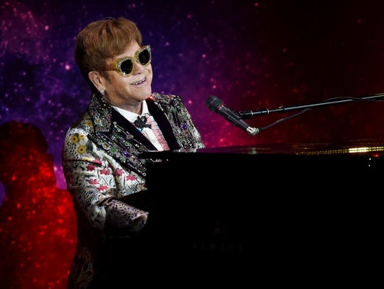 "Elton John's ""Farewell Yellow Brick Road"" was supposed to stop in Milwaukee Feb. 19, but is being delayed seven months ""to make some technical production adjustments,"" according to a press release from Fiserv Forum."