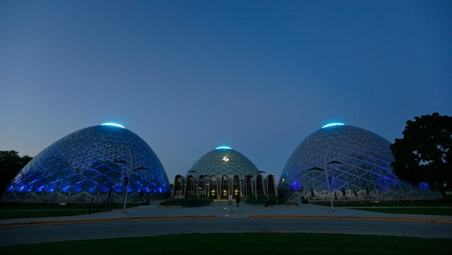 The Mitchell Park Conservatory, otherwise know as the Domes.