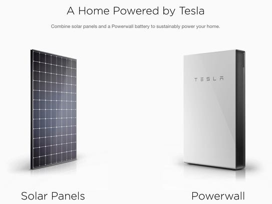 Tesla will offer its solar panels and Powerwall storage