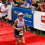 Lesley Smith at the conclusion of the Challenge Penticton.