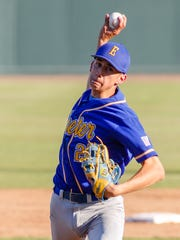Exeter's Jaykob Acosta had a strong performance on