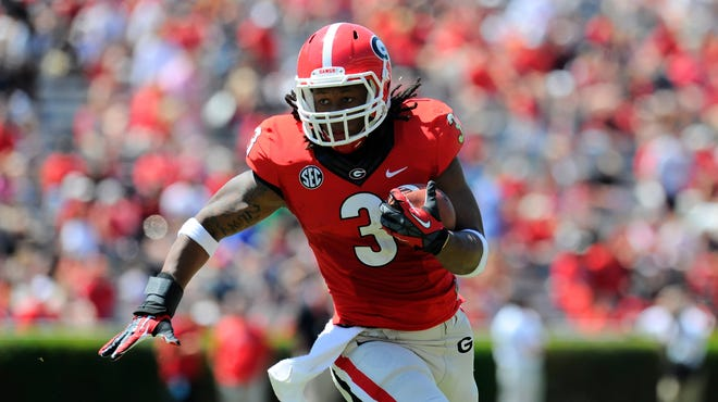 Running back Todd Gurley will lead the offense for Georgia.
