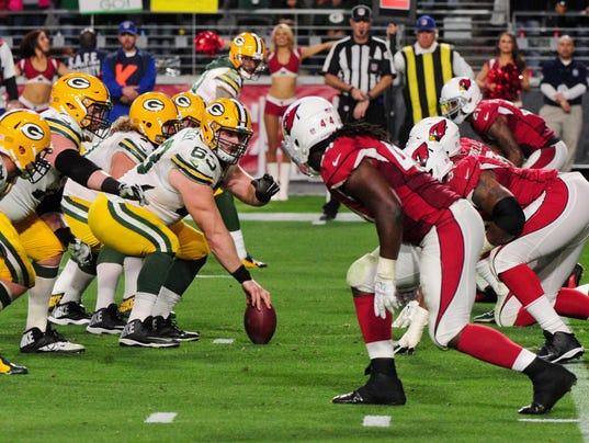 USP NFL: GREEN BAY PACKERS AT ARIZONA CARDINALS S FBN USA AZ